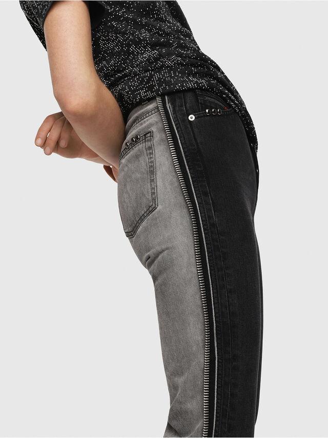 Diesel - D-Eiselle 082AN, Black/Dark Grey - Jeans - Image 3