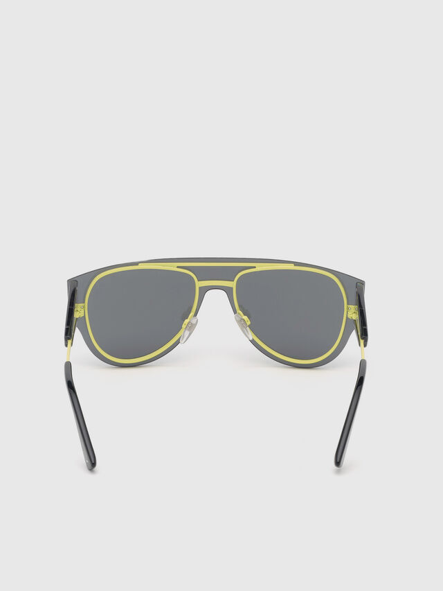 Diesel - DL0273, Black/Yellow - Sunglasses - Image 4
