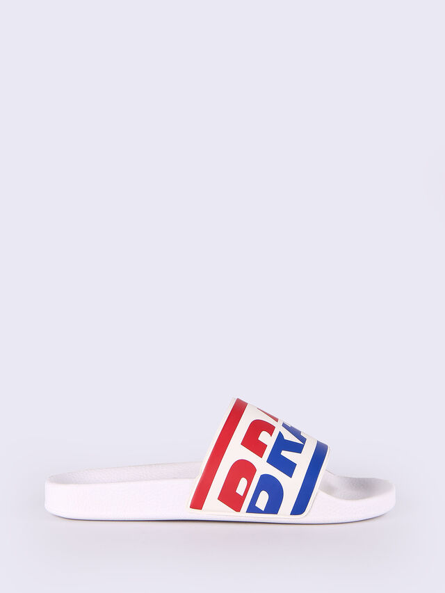 Diesel - SA-MARAL, White - Slippers - Image 1