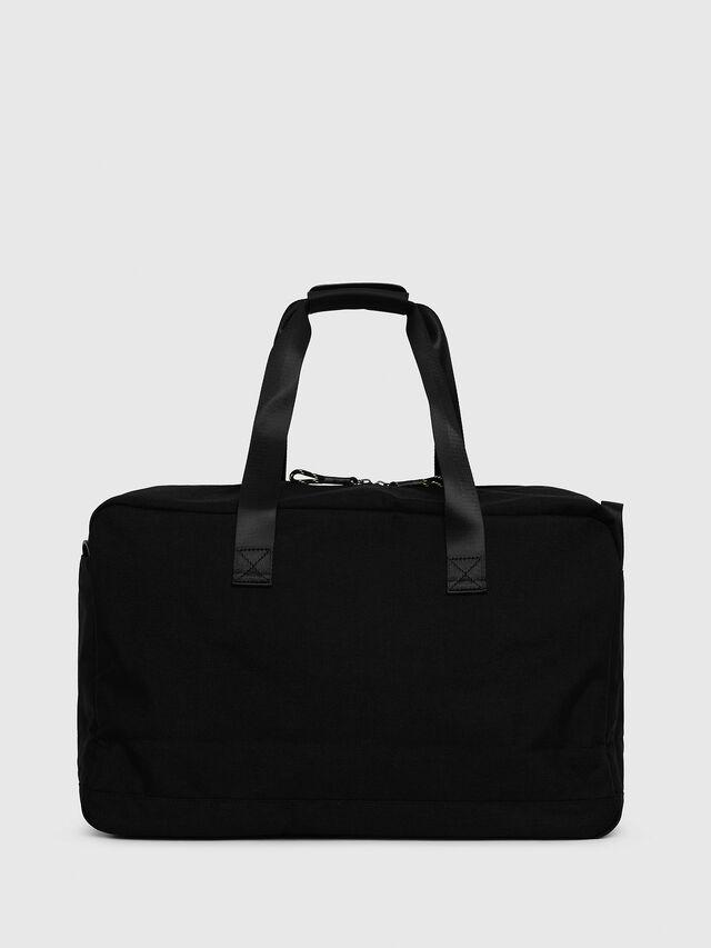 Diesel - SOLIGO, Black/Yellow - Travel Bags - Image 2