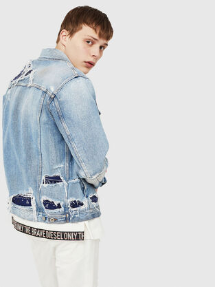 7994163580f Mens Denim Jackets
