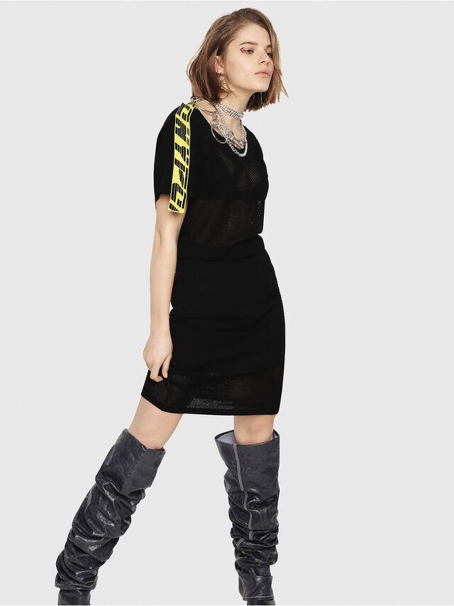 Diesel - M-PAMMY, Black - Dresses - Image 1