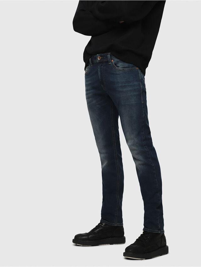 5bd40882 Diesel - Thommer 084BU, Dark Blue - Jeans - Image 1