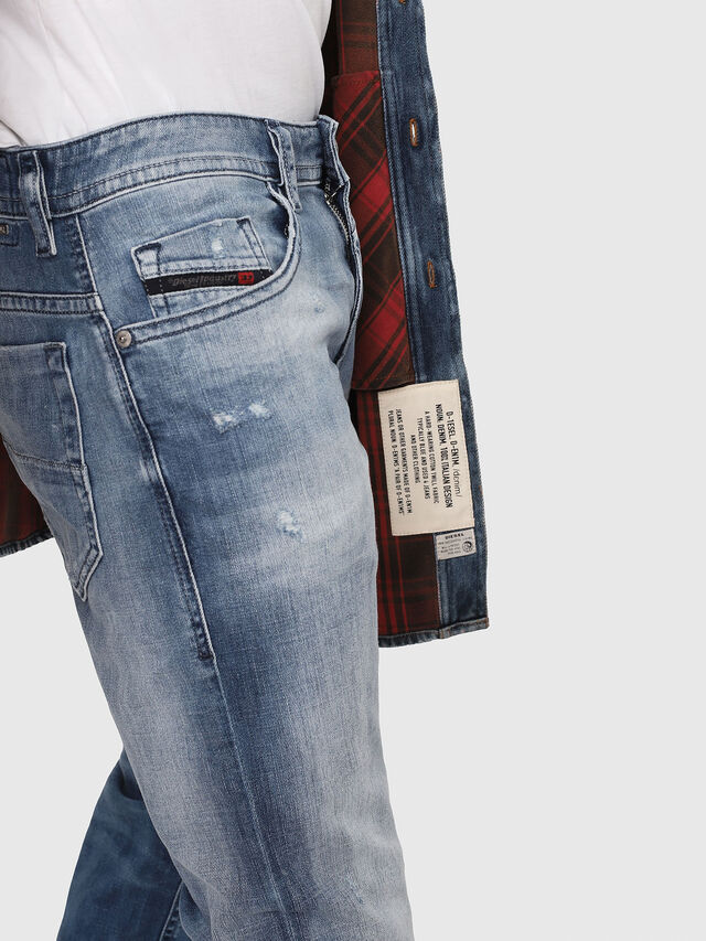 Diesel - Thommer 081AS, Medium Blue - Jeans - Image 4
