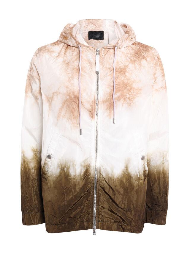 Diesel - JIEDYE, White/Brown - Jackets - Image 1