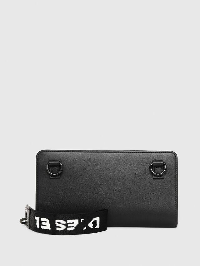Diesel - NEW GRANATO LOOP, Black - Zip-Round Wallets - Image 2