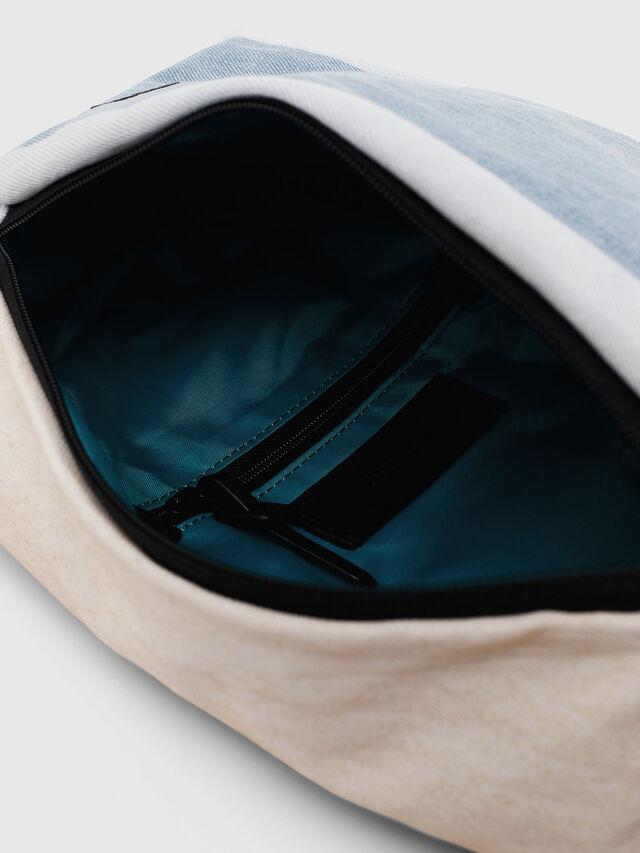 Diesel - D-SUBTORYAL MONO, White/Blue - Backpacks - Image 4