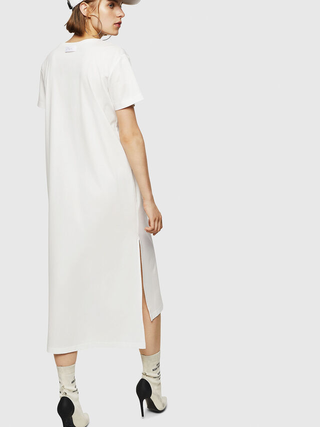 Diesel - D-FELIX-LONG, White - Dresses - Image 2
