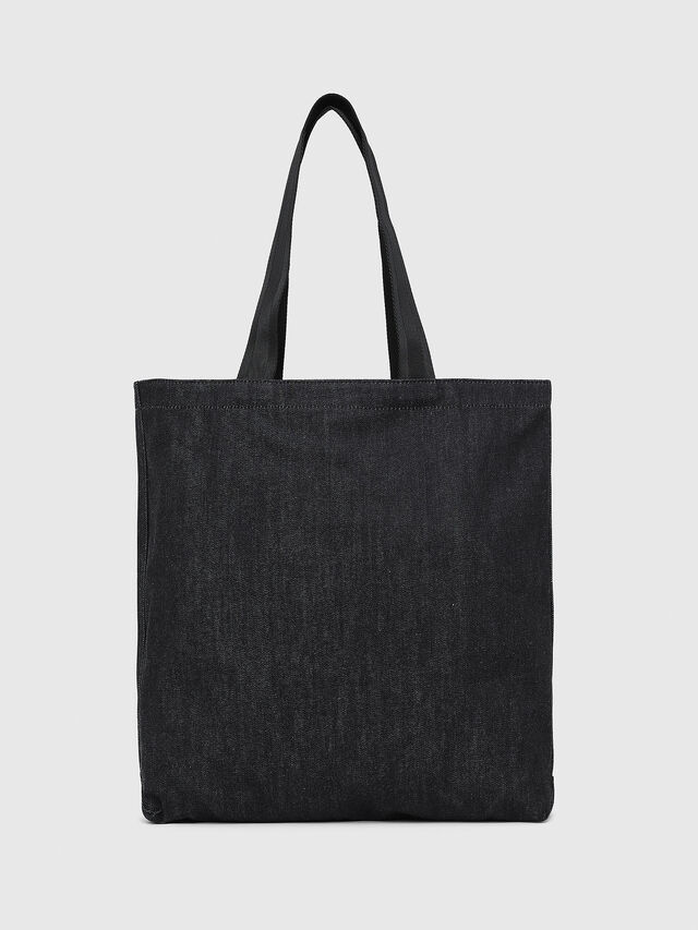 Diesel - F-THISBAG SHOPPER NS, Dark Blue - Shopping and Shoulder Bags - Image 2