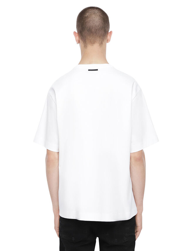 Diesel - TEORIAL-NAIL, White - T-Shirts - Image 2