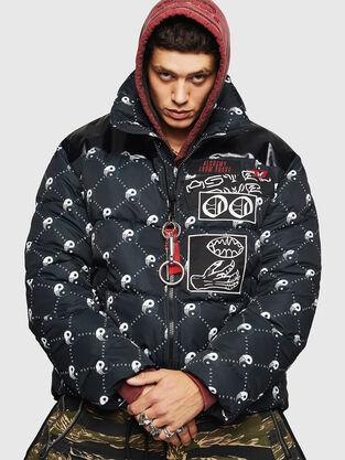 e8d0669761b Mens Jackets: denim, leather | Diesel Online Store