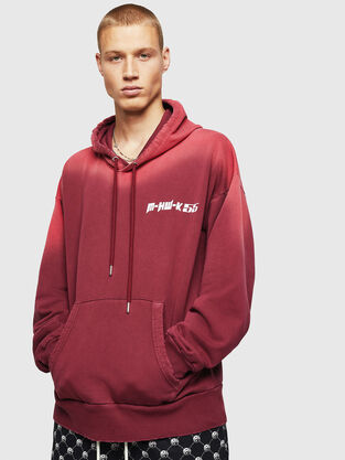 7a5e2b34 Mens Sweaters: hooded or not | Diesel Online Store