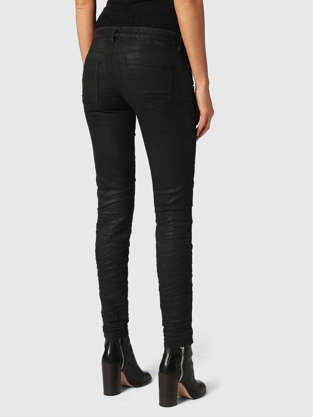 Diesel - Gracey JoggJeans 0688U, Black/Dark Grey - Jeans - Image 3