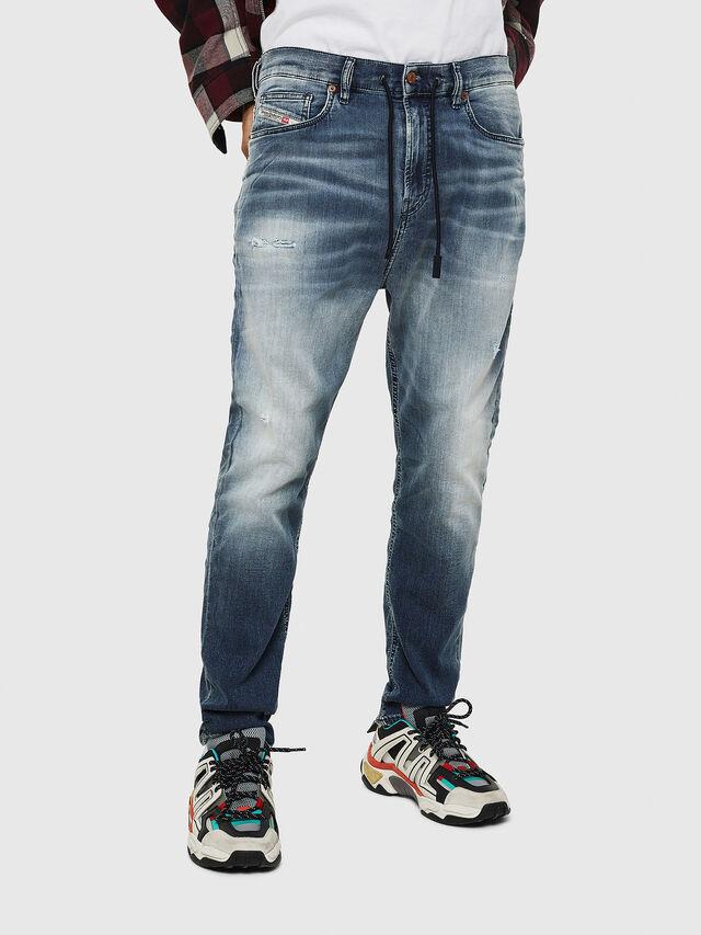 Diesel - D-Vider JoggJeans 069IP, Dark Blue - Jeans - Image 1
