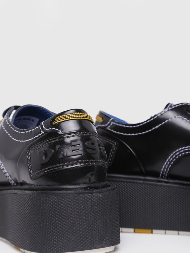 Diesel - D-CAGE LC, Bright Black - Flats - Image 4