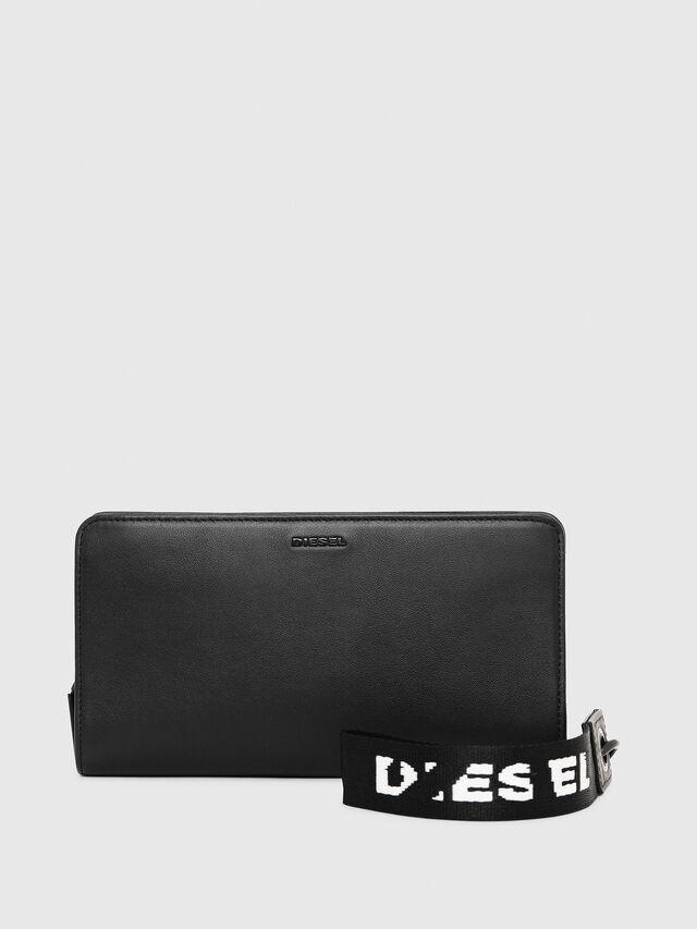 Diesel - NEW GRANATO LOOP, Black - Zip-Round Wallets - Image 1