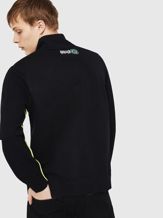 Diesel - K-TRAFFIC, Black - Sweaters - Image 2
