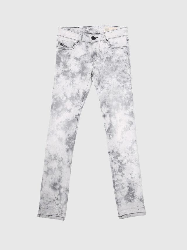 Diesel - SKINZEE-LOW-J-N, White/Grey - Jeans - Image 1