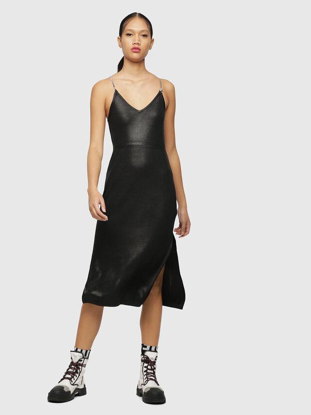 Diesel - M-FOIL, Black - Dresses - Image 1