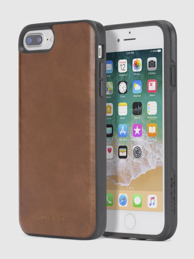 sale retailer 1255b 36ce2 BROWN LEATHER IPHONE X CASE