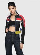 L-SKYLAR, Multicolor/Black - Leather jackets