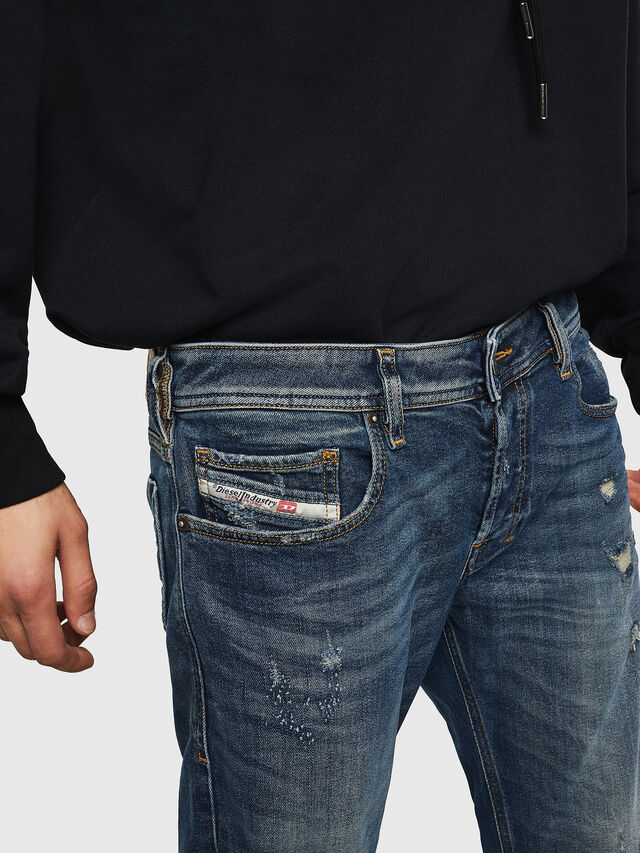 Diesel - Zatiny 083AC, Dark Blue - Jeans - Image 3