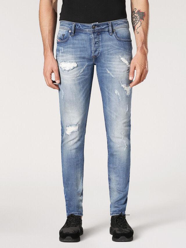 Diesel - Sleenker CN084, Light Blue - Jeans - Image 2