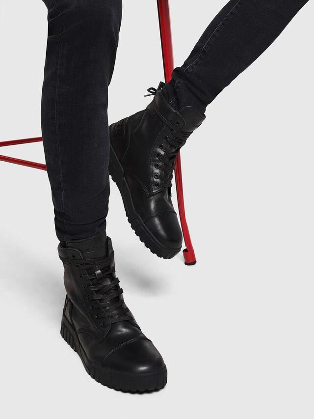 Diesel - H-RUA AM, Black - Sneakers - Image 6
