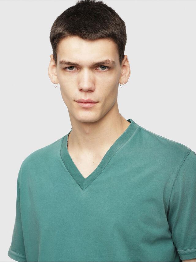 Diesel - T-SHOJI, Dark Green - T-Shirts - Image 3