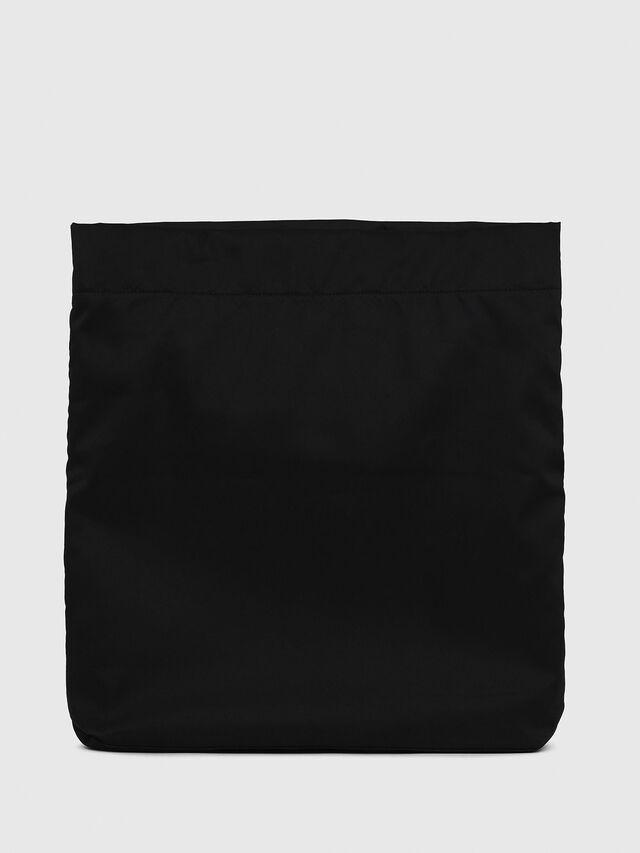 Diesel - F-LITT SHOPPER EW, Black/White - Clutches - Image 2