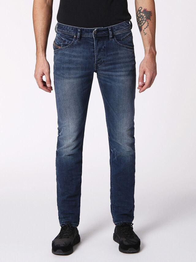 Diesel - Belther 084SY, Dark Blue - Jeans - Image 1