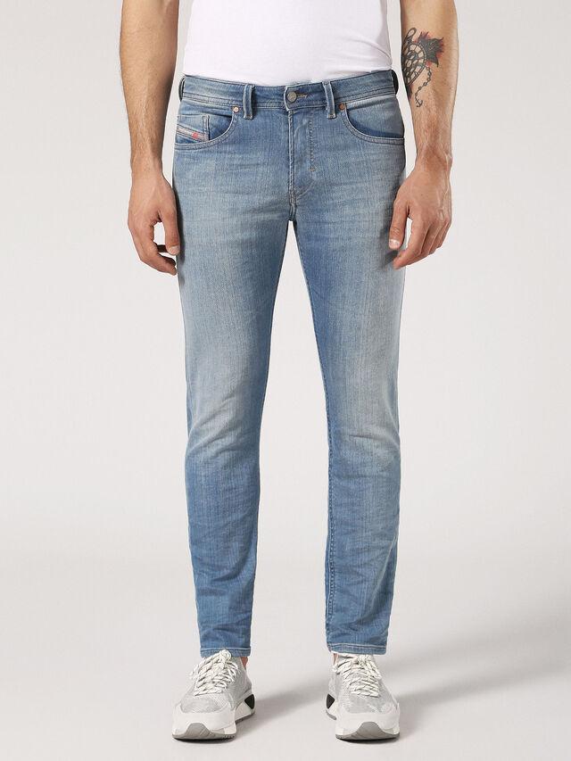 6442a1f5 Diesel - Thommer JoggJeans 084RJ, Light Blue - Jeans - Image 1