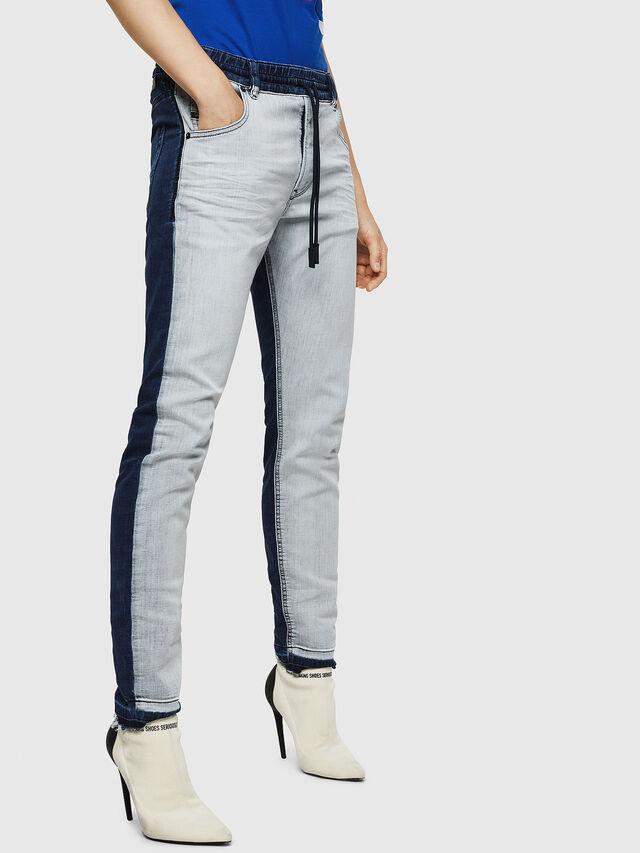 Diesel - Krailey JoggJeans 0870R, Medium Blue - Jeans - Image 6