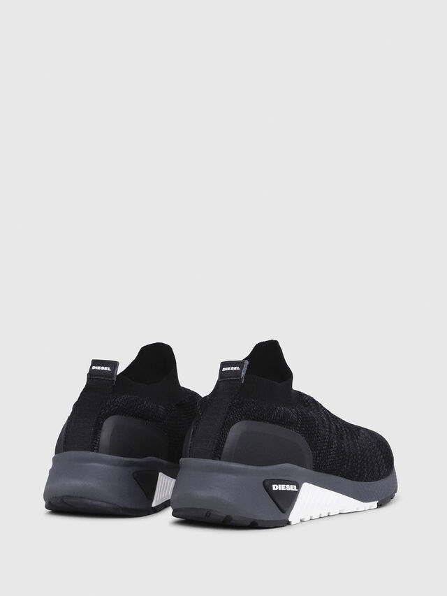 Diesel - S-KB ATHL SOCK, Black - Sneakers - Image 3