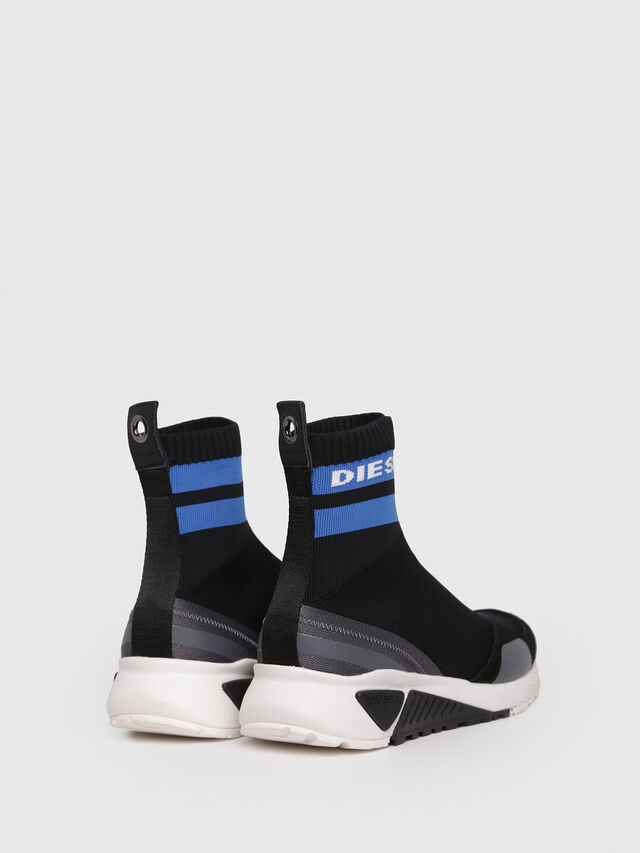 Diesel - S-KB SOCK, Black/Blue - Sneakers - Image 2