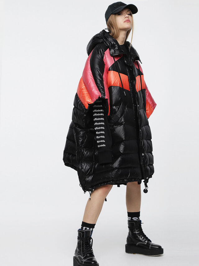 Diesel - W-MOSA, Multicolor/Black - Winter Jackets - Image 6