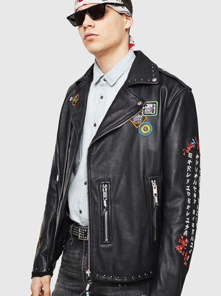 L-JUNER,  - Leather jackets