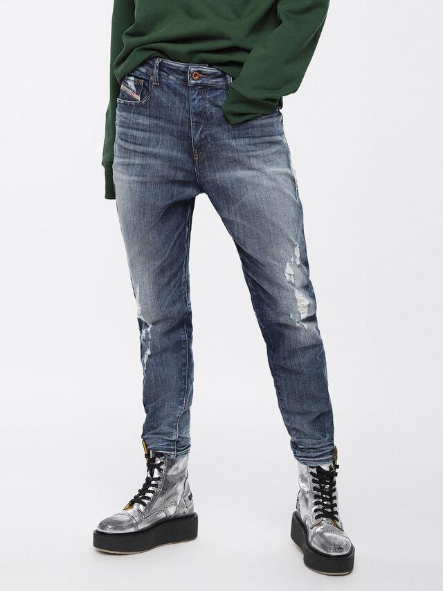 Diesel - Candys JoggJeans 084YH, Medium Blue - Jeans - Image 1
