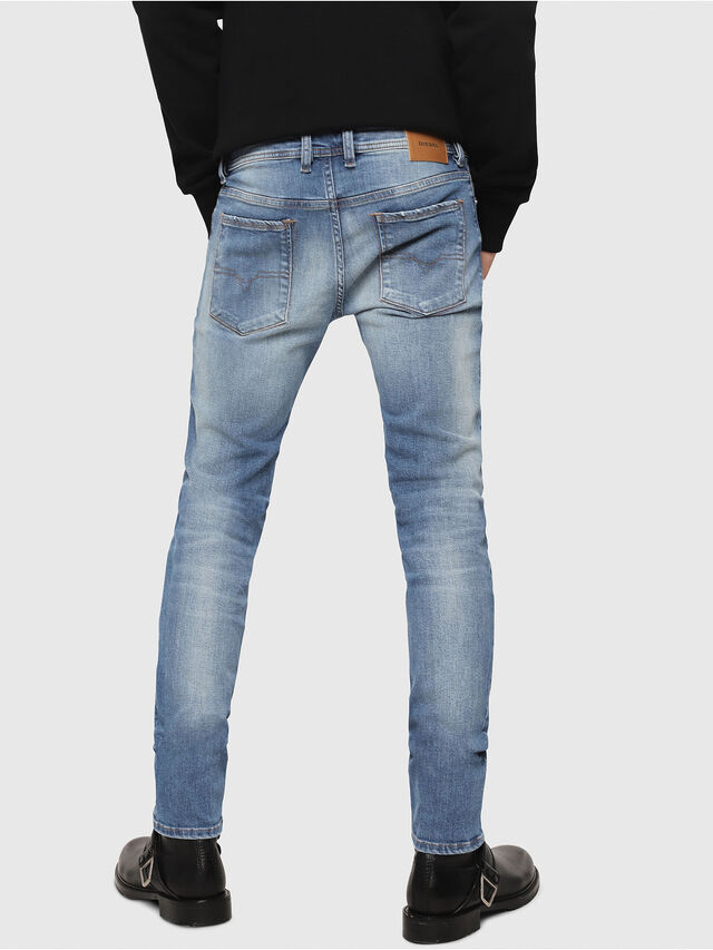 Diesel - Sleenker CN018, Medium Blue - Jeans - Image 2