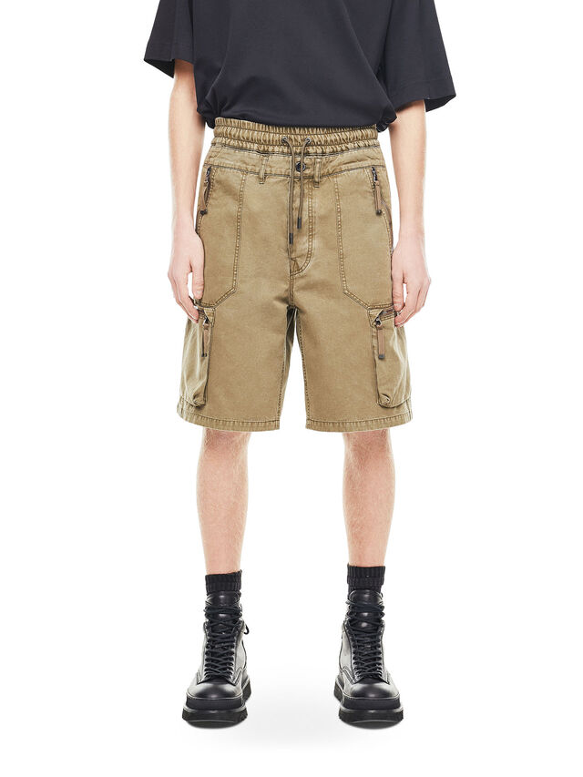 Diesel - PHILOS, Military Green - Shorts - Image 1