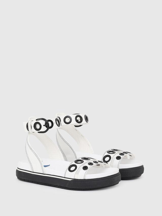 Diesel - SA-GRAND LCE, White/Black - Sandals - Image 2