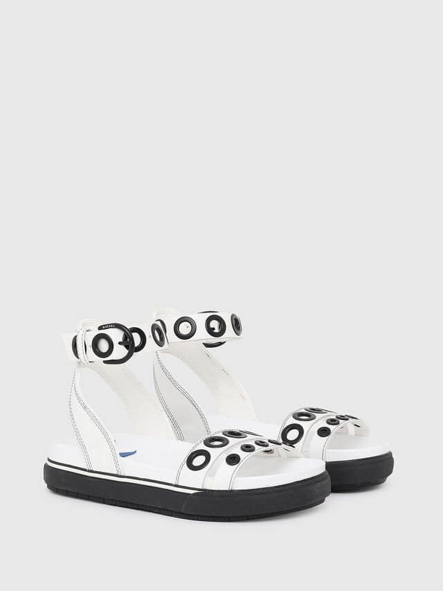 Diesel - SA-GRAND LCE, White/Black - Sandals - Image 2