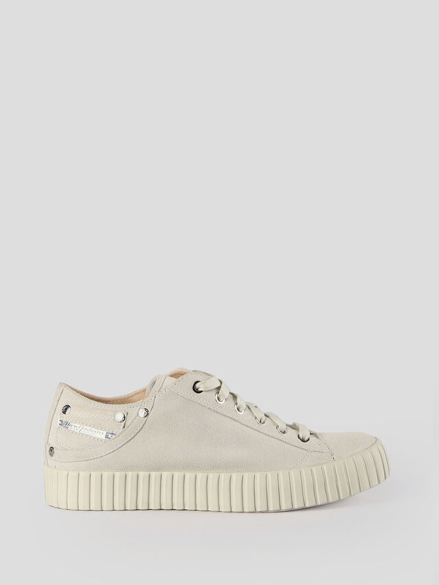 Diesel - S-EXPOSURE CLC W, Dirty White - Sneakers - Image 1