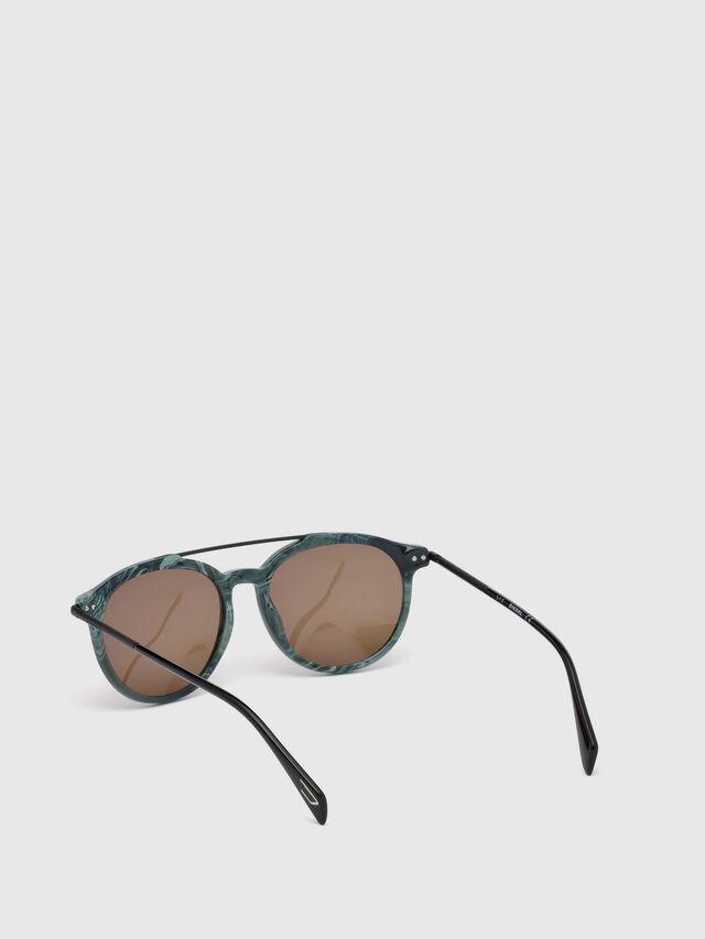 Diesel - DM0188, Green - Sunglasses - Image 2