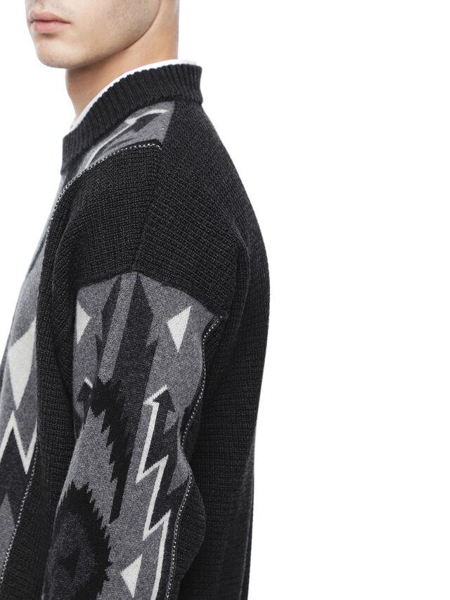 Diesel - KAVAJO, Black - Sweaters - Image 5