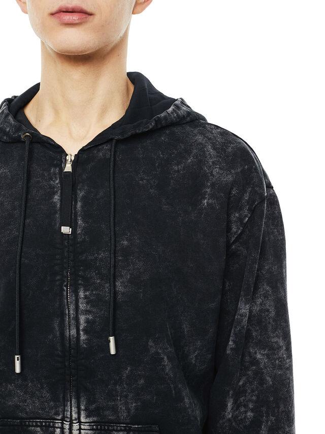 Diesel - FYOVER, Black - Sweatshirts - Image 4