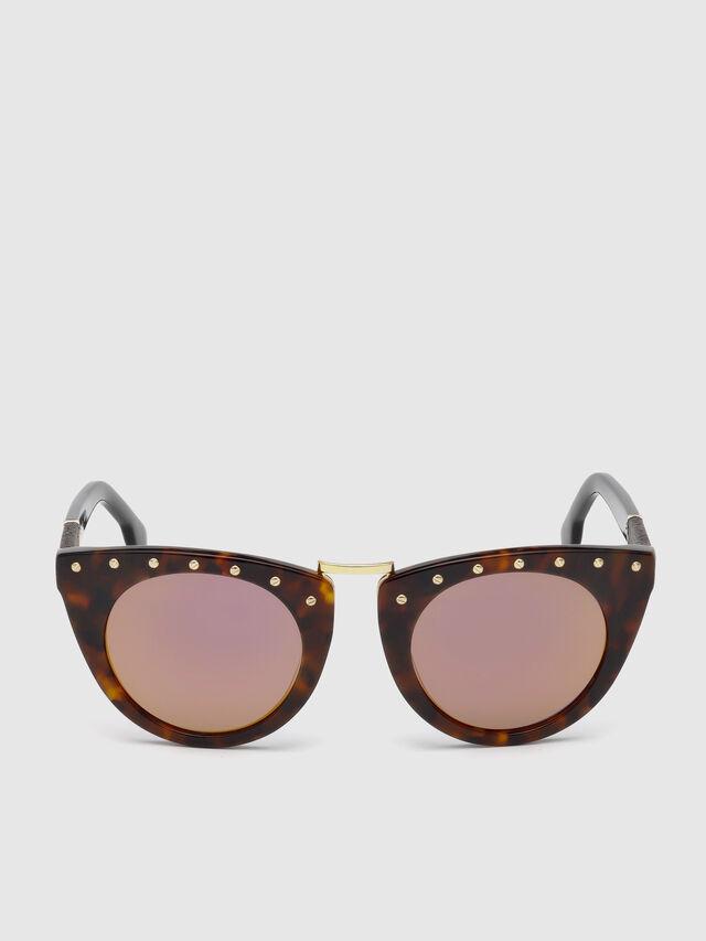 Diesel - DL0211, Brown - Sunglasses - Image 1