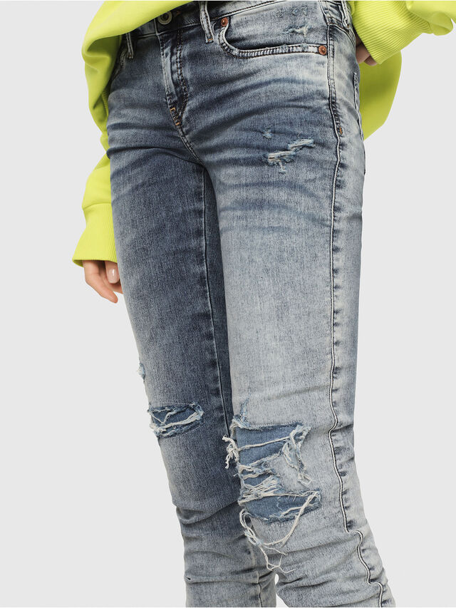 Diesel - Gracey JoggJeans 069FC, Light Blue - Jeans - Image 3