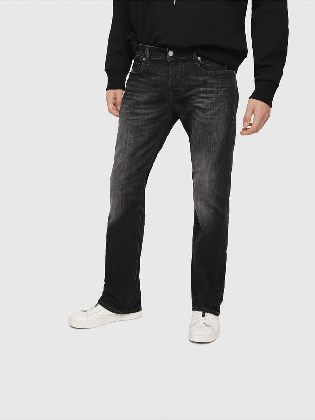 Diesel - Zatiny 087AM, Black/Dark Grey - Jeans - Image 1