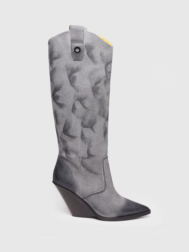 Diesel - D-WEST HB, Grey Melange - Boots - Image 1